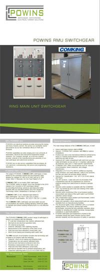 Rmu Switchgear By Powins